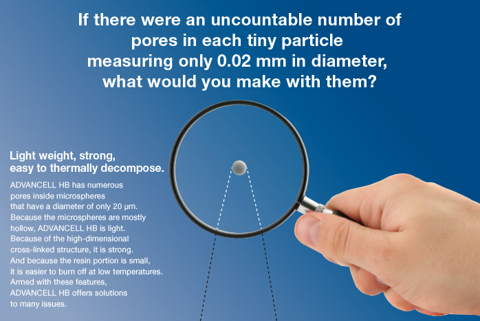 If there were an uncountable number of pores in each tiny particle measuring only 0.02 mm in diameter, what would you make with them?